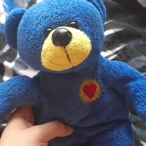 Blue and Yellow Teddy Bear